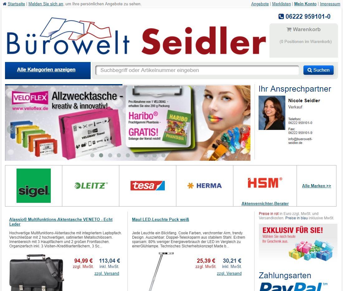 Unser Onlineshop buerobedarf-shop24.de