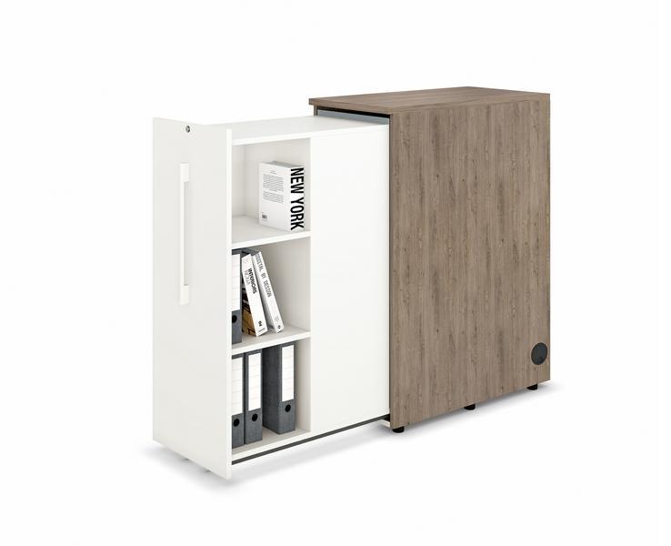 Orga-Container 3 OH mit 3 OH Nutzhöhe, wechselseitig
