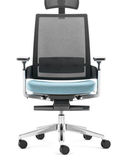 FM Bürostuhl Leon X3.6 mit Kopfstütze